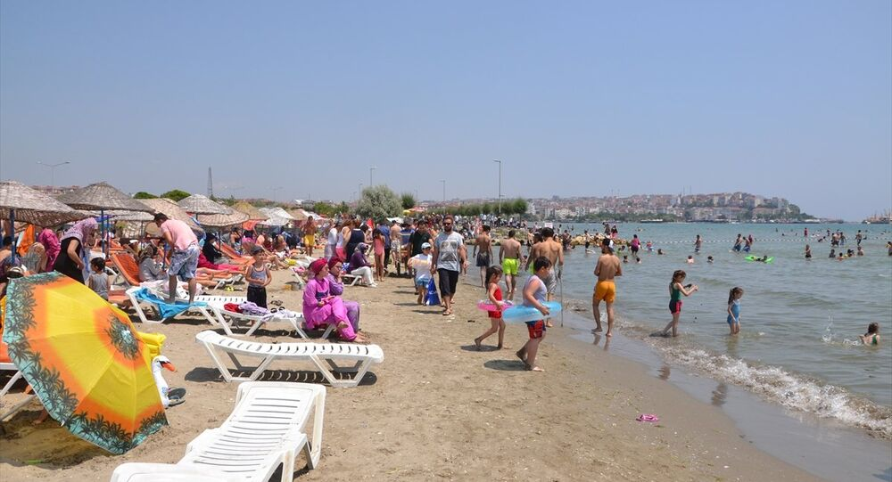Sıcak hava, İstanbul plajları