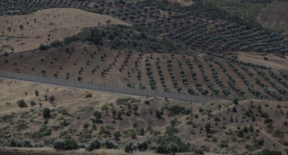 Afrin - Kilis sınırı