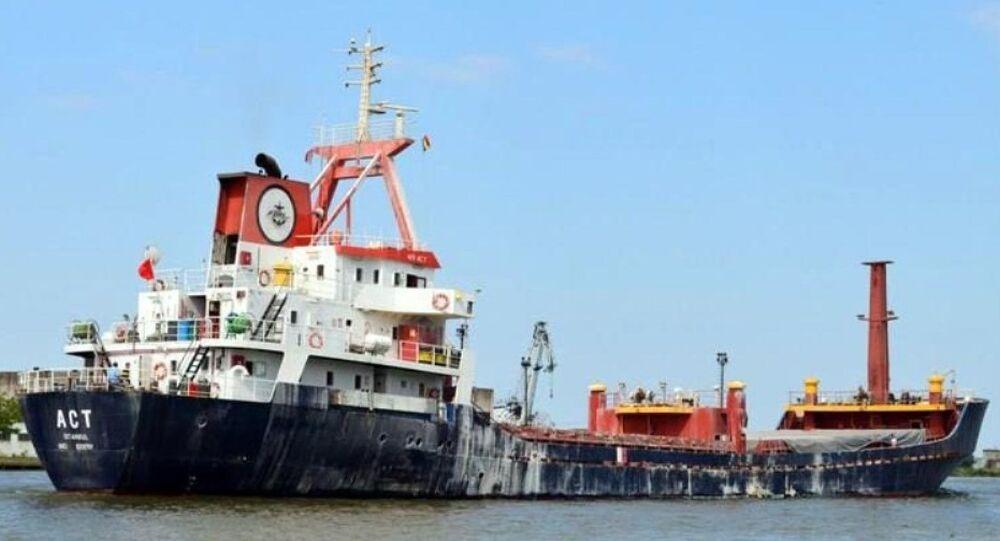 Türk bayraklı yük gemisi ACT