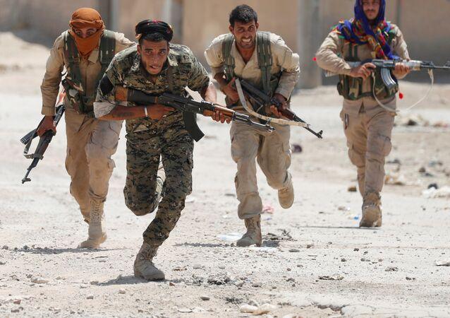 Rakka operasyonu - YPG