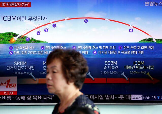 Kuzey Kore-balistik füze denemesi