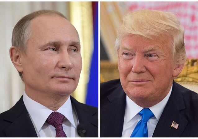 Rusya Devlet Başkanı Vladimir Putin ile ABD'li mevkidaşı Donald Trump