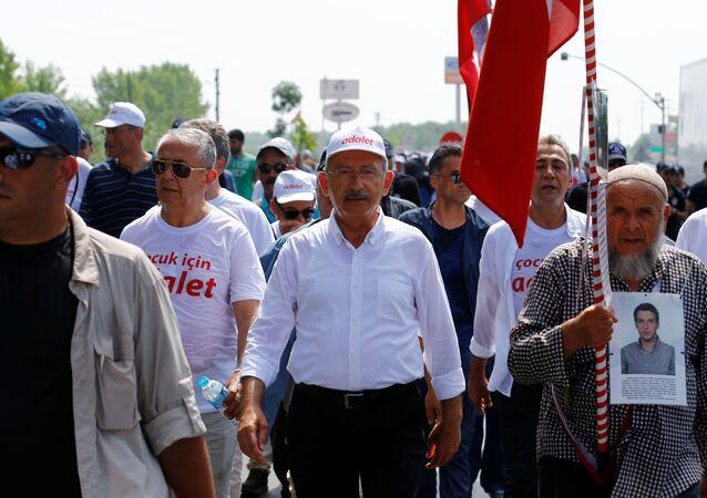 CHP Genel Başkanı Kemal Kılıçdaroğlu - Adalet Yürüyüşü