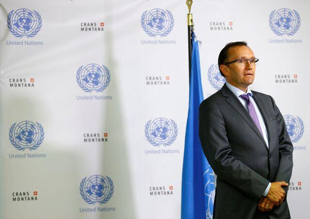 BM Genel Sekreteri'nin Kıbrıs Özel Danışmanı Espen Barth Eide