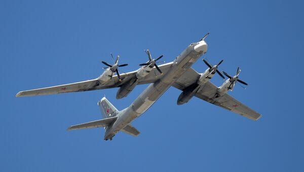 A Tupolev Tu-95MS Bear strategic bomber - Sputnik Türkiye