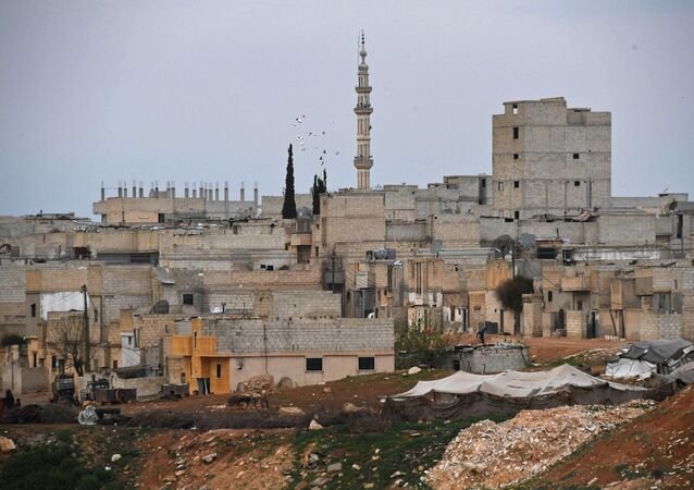 Buildings in Hama, Syria