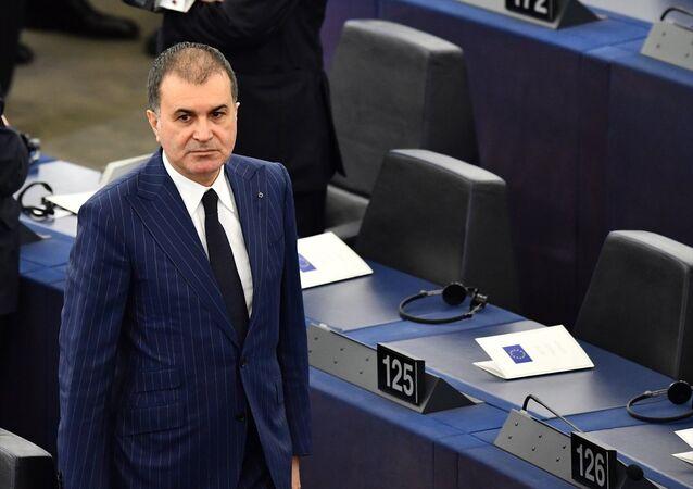 AB Bakanı ve Başmüzakereci Ömer Çelik