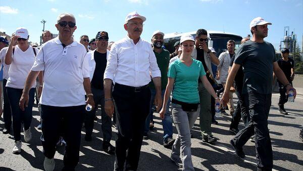 CHP Başkanı Kemal Kılıçdaroğlu - Adalet Yürüyüşü - Sputnik Türkiye