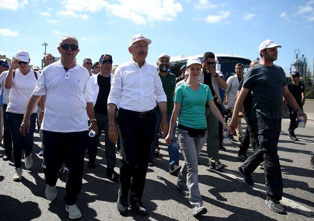 CHP Başkanı Kemal Kılıçdaroğlu - Adalet Yürüyüşü