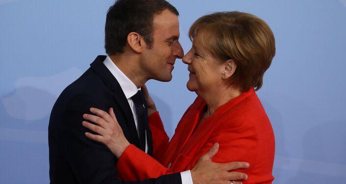 G20 Liderler Zirvesi, Hamburg'da başladı: Angela Merkel ve Emmanuel Macron