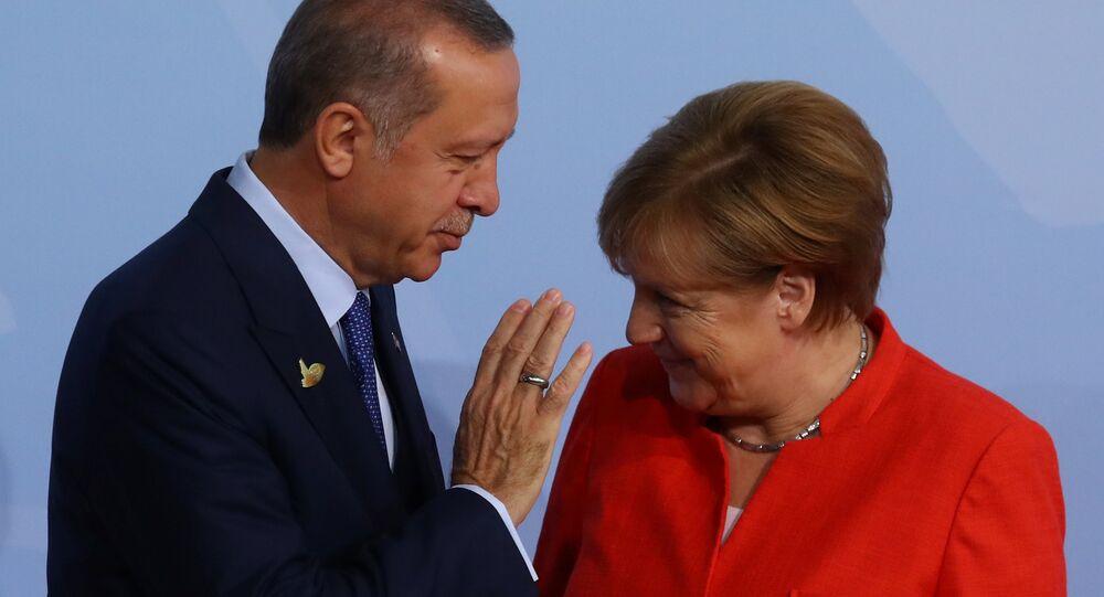 G20 Liderler Zirvesi, Hamburg'da başladı: Angela Merkel ve Recep Tayyip Erdoğan