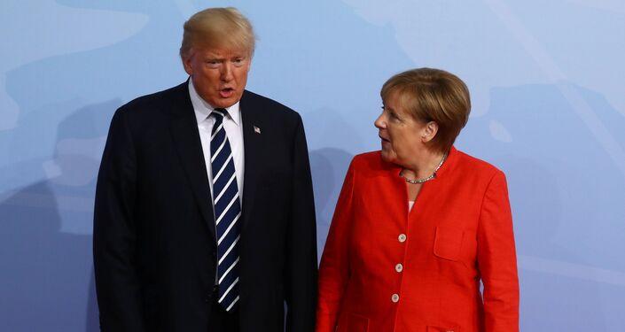 G20 Liderler Zirvesi, Hamburg'da başladı: Angela Merkel ve Donald Trump