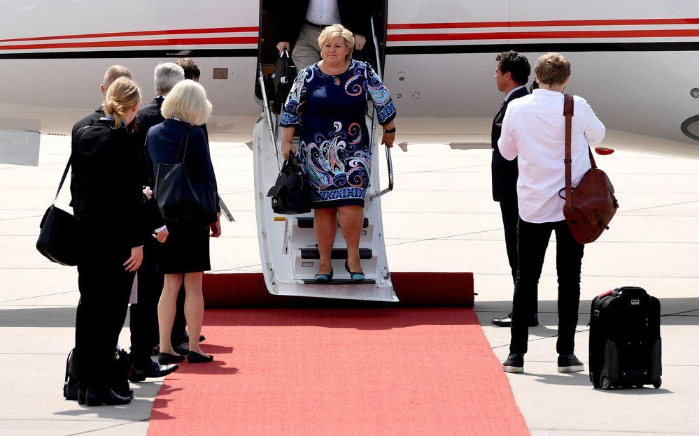 G20 liderleri Hamburg'da