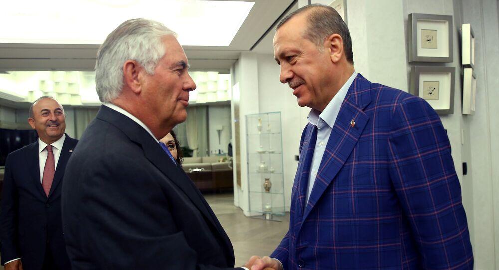 Rex Tillerson - Recep Tayyip Erdoğan