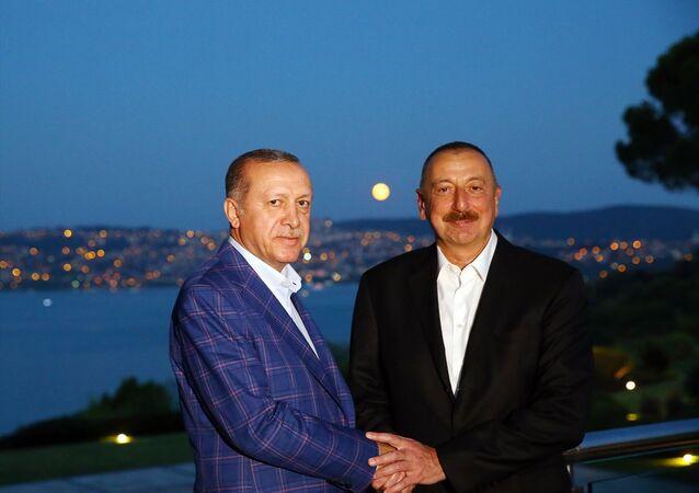 Türkiye Cumhurbaşkanı Recep Tayyip Erdoğan- Azerbaycan Cumhurbaşkanı İlham Aliyev