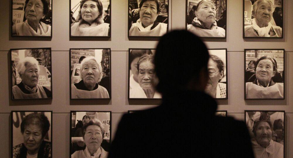 Güney Kore-Japonya-Seks kölesi