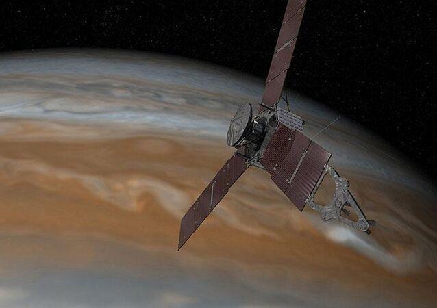 NASA'nın uzay aracı Juno