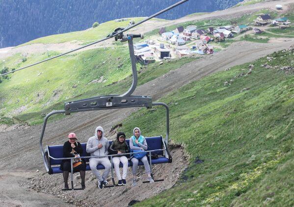 Dağların kalbi Dombay - Sputnik Türkiye