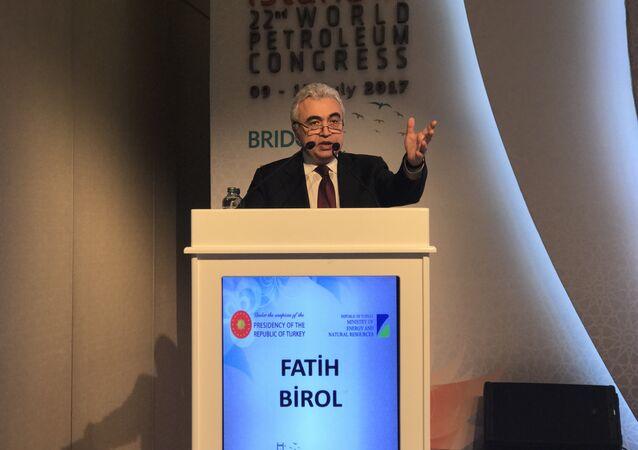Uluslararası Enerji Ajansı Başkanı Fatih Birol.