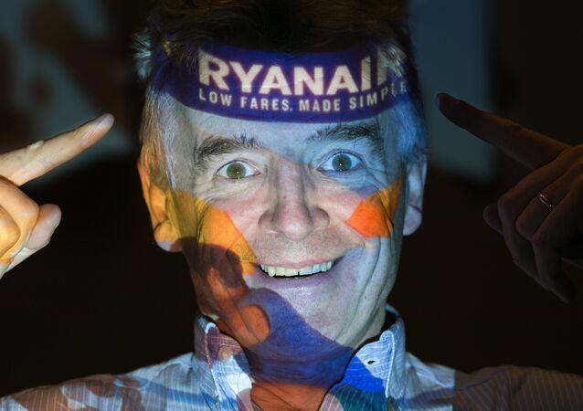 Ryanair'in yöneticisi Michael O'Leary - 31 Ağustos 2016, Londra