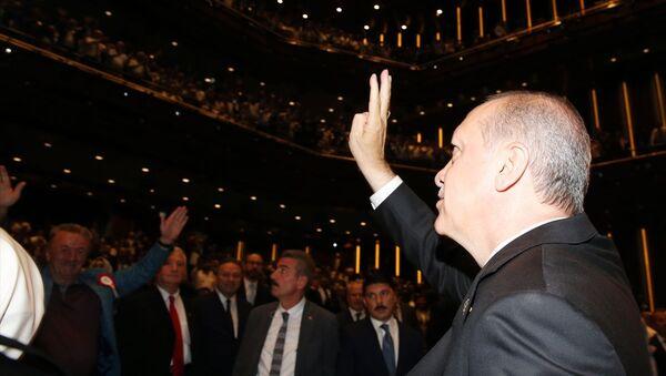 Recep Tayyip Erdoğan / 15 Temmuz Şehitleri Anma Programı - Sputnik Türkiye