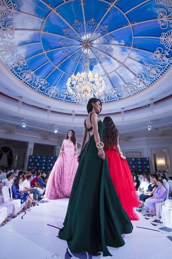 Kırgızistan Güzeli 2017 yarışması - Sputnik Türkiye