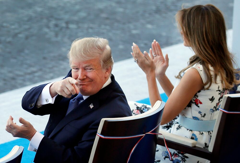 Bastille Günü / Donald Trump - Melania Trump