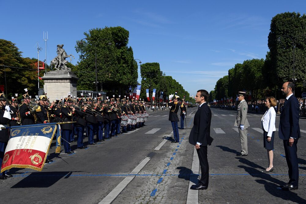 Bastille Günü / Emmanuel Macron