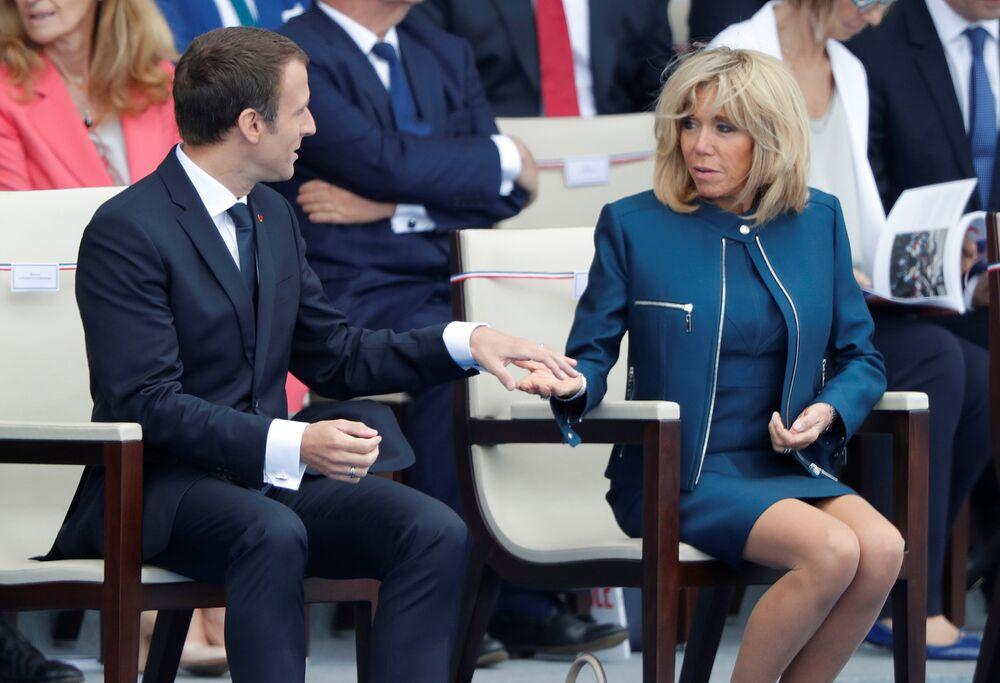 Bastille Günü / Emmanuel Macron - Brigitte Trogneux