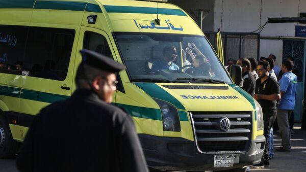 Mısır-ambulans - Sputnik Türkiye