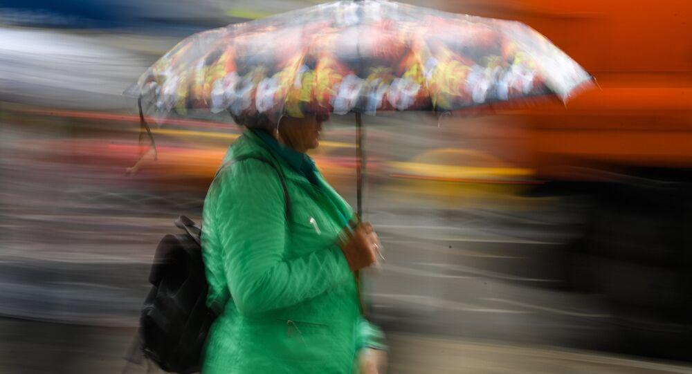 Yağmur- şemsiye