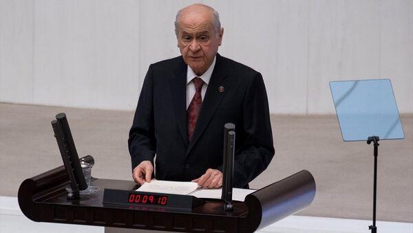 MHP lideri Devlet Bahçeli - Sputnik Türkiye