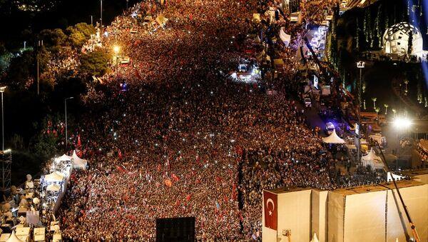 15 Temmuz'un 1. yıldönümü - İstanbul - Sputnik Türkiye