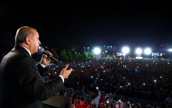 15 Temmuz'un 1. yıldönümü - Ankara - Recep Tayyip Erdoğan - Sputnik Türkiye