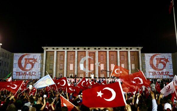 15 Temmuz'un 1. yıldönümü - Ankara - TBMM - Sputnik Türkiye
