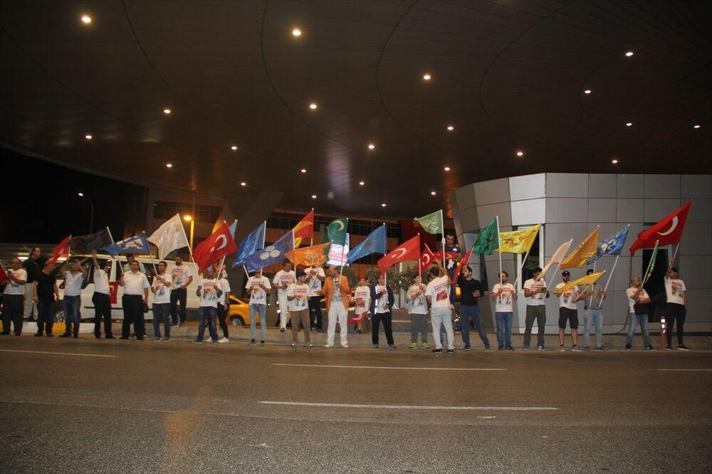 15 Temmuz'un 1. yıldönümü - İstanbul - Atatürk Havalimanı