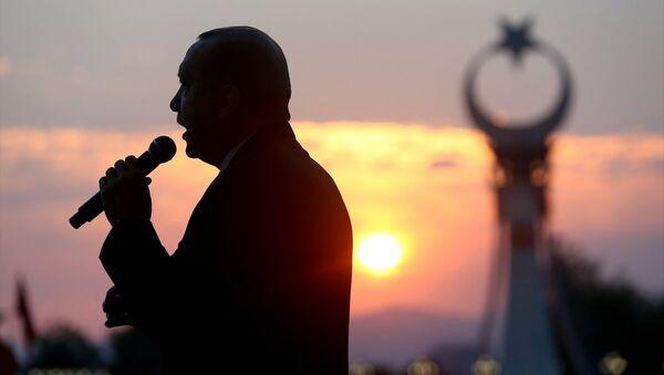 Beştepe Şehitler Abidesi - Recep Tayyip Erdoğan - Sputnik Türkiye