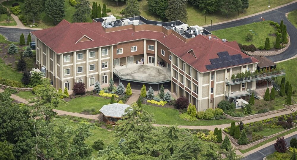 Fethullah Gülen'in Pensilvanya'daki malikanesi havadan görüntülendi