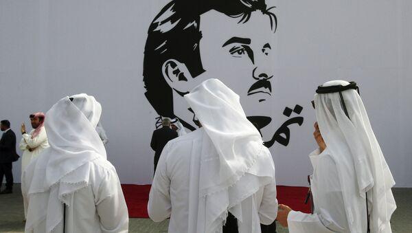 Katar Emiri Şeyh Tamim Bin Hamad El Sani  - Sputnik Türkiye