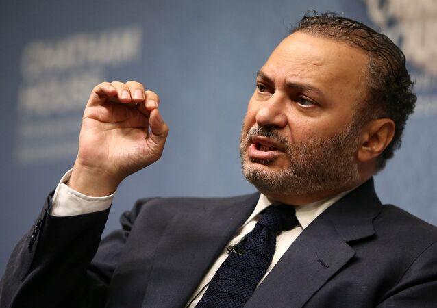 BAE Dışişleri Bakanı Enver Gargaş