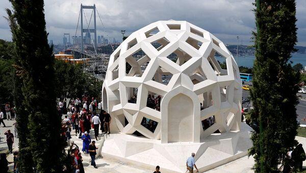 15 Temmuz anıtı - İstanbul - Sputnik Türkiye