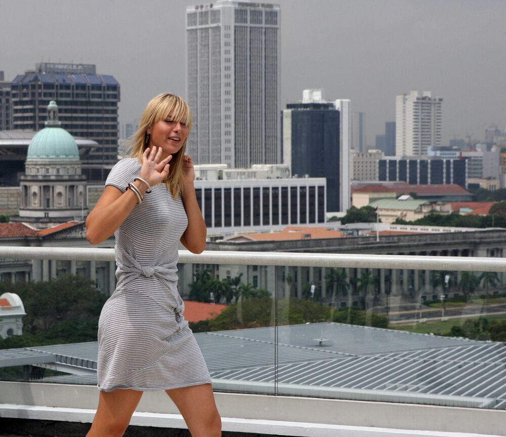 Tenisçi Mariya Şarapova