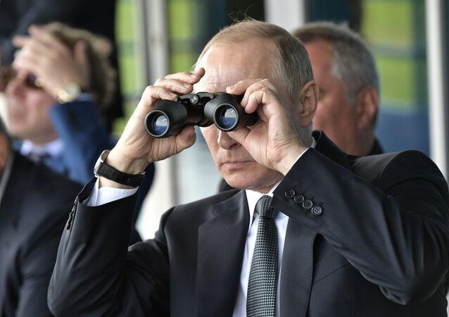 Vladimir Putin MAKS-2017