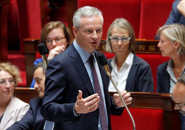 Fransa Ekonomi Bakanı Bruno Le Maire