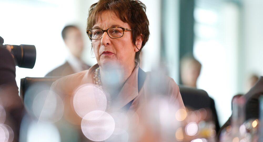 Almanya Ekonomi Bakanı Brigitte Zypries
