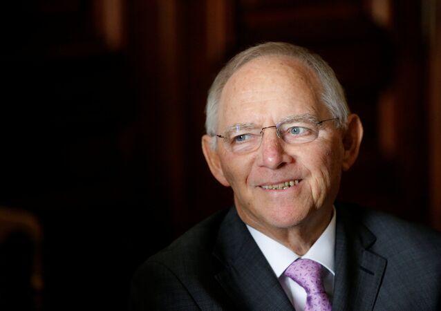 Almanya Maliye Bakanı Wolfgang Schauble