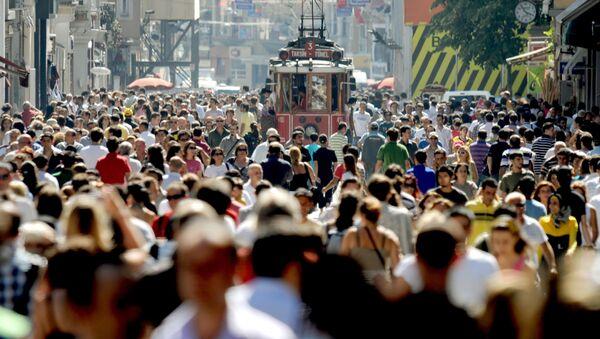 İstiklal Caddesi - 2009 - Sputnik Türkiye