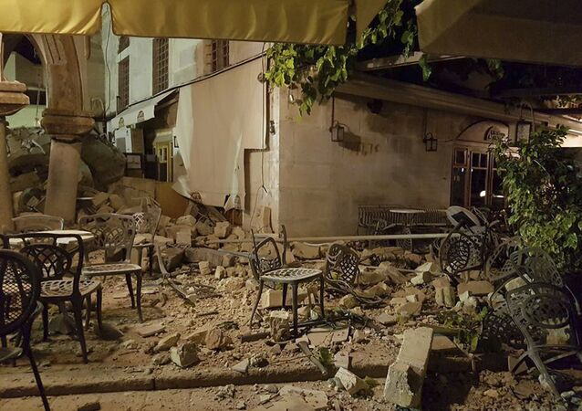 Ege'de deprem / Kos adası