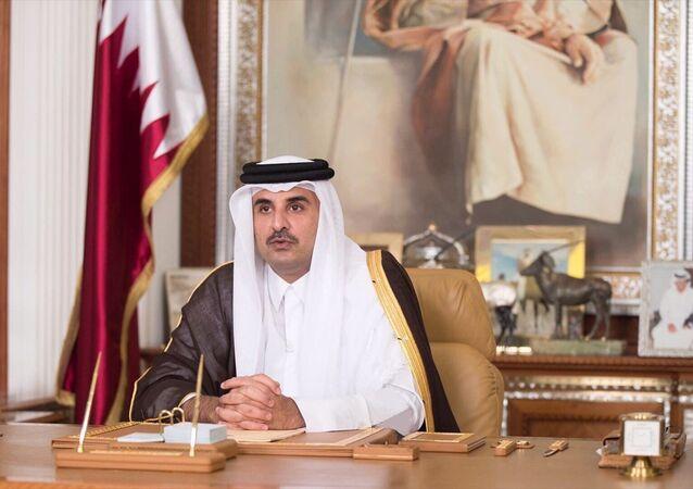 Katar Emiri Şeyh Temim bin Hamad El Sani