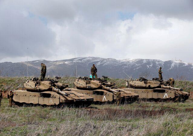 İsrail tankı